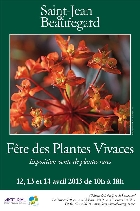 F te des plantes de saint jean de beauregard 91 for Commander des plantes